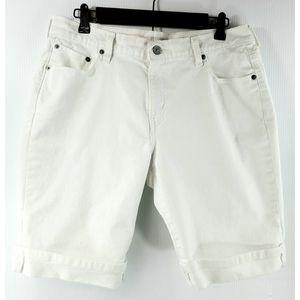 Levi's 515 Bermuda shorts white 12